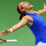 L'équipe de France de tennis, emmenée par Caroline Garcia, s'est qualifiée pour les demi-finales de la Fed Cup en éliminant la Belgique, dimanche à Liège.