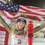 L'Américaine Mikaela Shiffrin a remporté le titre mondial du slalom pour la 4ème fois consécutive, samedi à Are. Un exploit dans l'histoire du ski alpin !