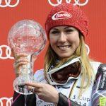 Mikaela Shiffrin a remporté mardi le globe de cristal du slalom en s'imposant sur le City Event de Stockholm, comptant pour la Coupe du monde de ski alpin.