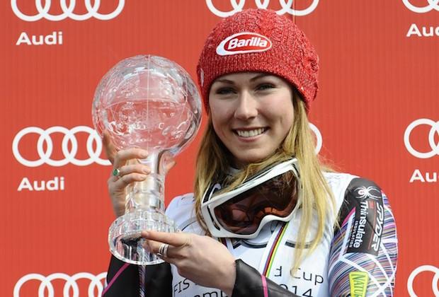 Ski alpin : Mikaela Shiffrin remporte son 6e globe de cristal en slalom