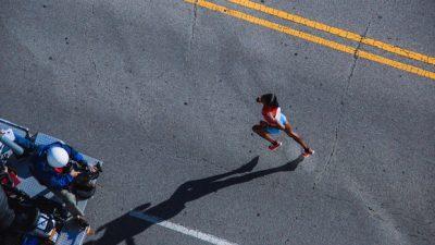 Sept marathons, en sept jours, sur six continents : Stéphanie Gicquel l'a fait