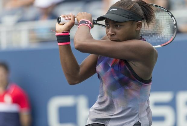 Tennis : Cori Gauff, 15 ans, remporte son premier match sur le circuit WTA