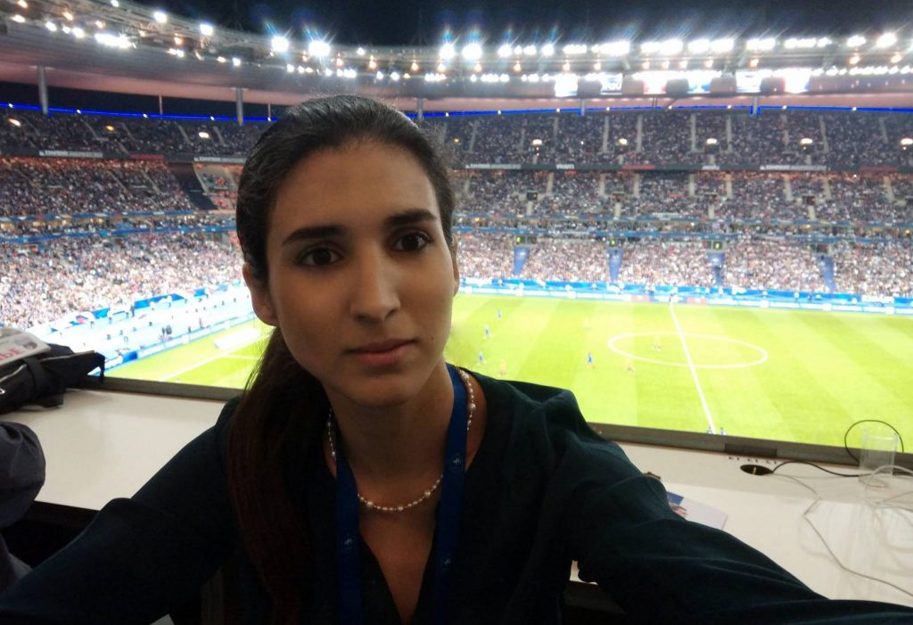 Dounia Mesli, 25 ans : l'émancipation par le football