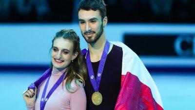 Sondage : Gabriella Papadakis est la sportive préférée des Français