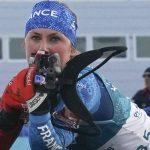 La Française Justine Braisaz a décroché la médaille de bronze de l'individuel 15 km des Mondiaux-2019 de biathlon ce mardi, à Ostersund.