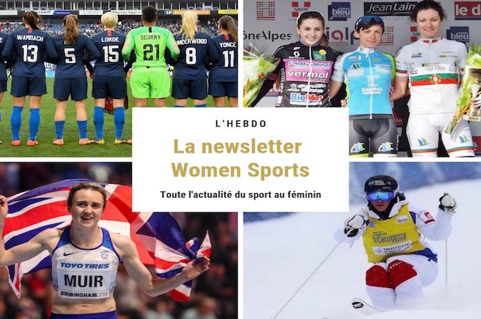 La newsletter WOMEN SPORTS du mardi 5 mars 2019