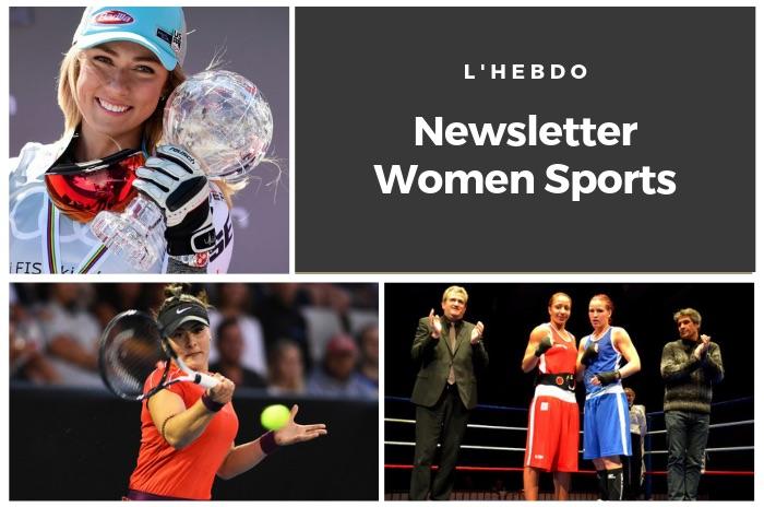 La newsletter WOMEN SPORTS du mardi 19 mars 2019