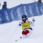La skieuse acrobatique française Perrine Laffont, 20 ans, a remporté ce week-end la Coupe du monde de ski de bosses pour la deuxième année consécutive.