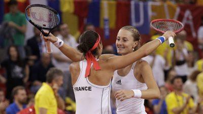 Fed Cup – Les Françaises en finale !