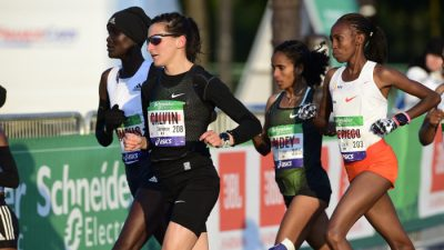 Clémence Calvin a été reçue par l'Agence française de lutte contre le dopage