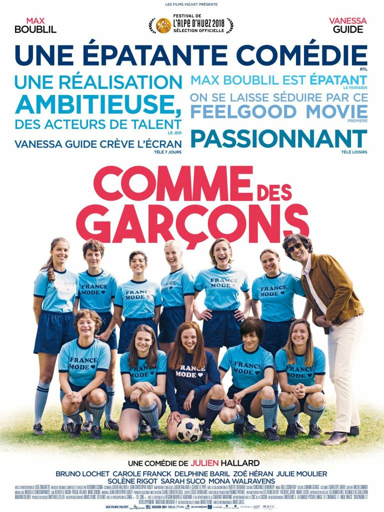 Le comédien Max Boublil, tête d'affiche du film « Comme des garçons », rejoint le club « We Men Sports » des hommes qui soutiennent le sport au féminin !
