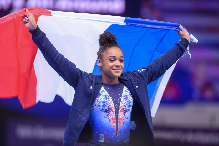 La récap du week-end : De Jesus Dos Santos, dans l'histoire de la gymnastique française