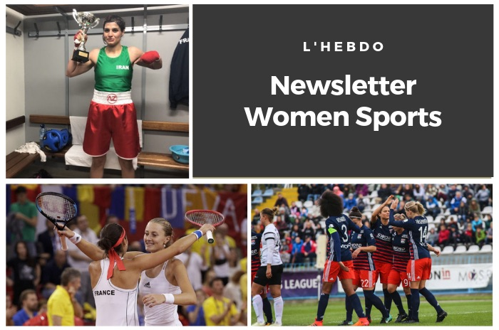 La newsletter WOMEN SPORTS du mardi 23 avril 2019