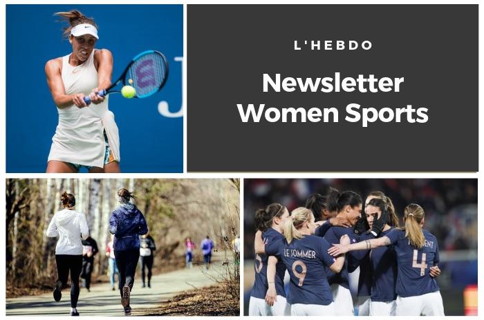 La newsletter WOMEN SPORTS du mardi 9 avril 2019