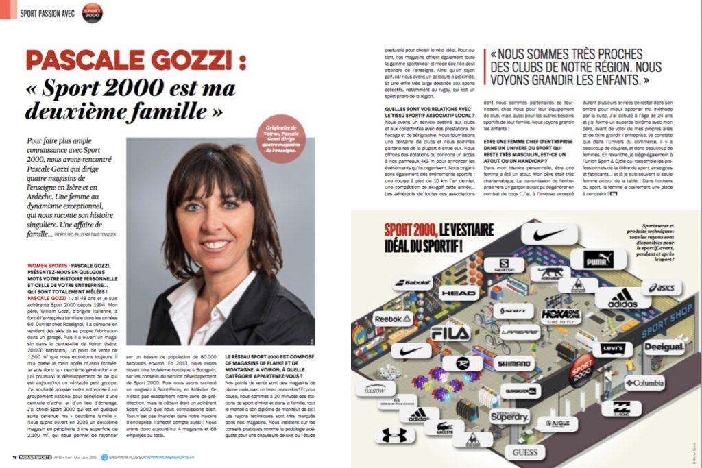 Pascale Gozzi : « Sport 2000 est ma deuxième famille