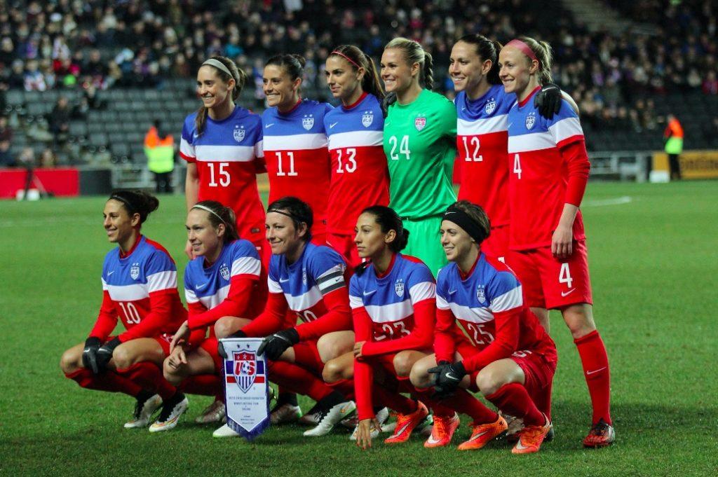 Voyage aux USA, le pays où le football féminin est roi