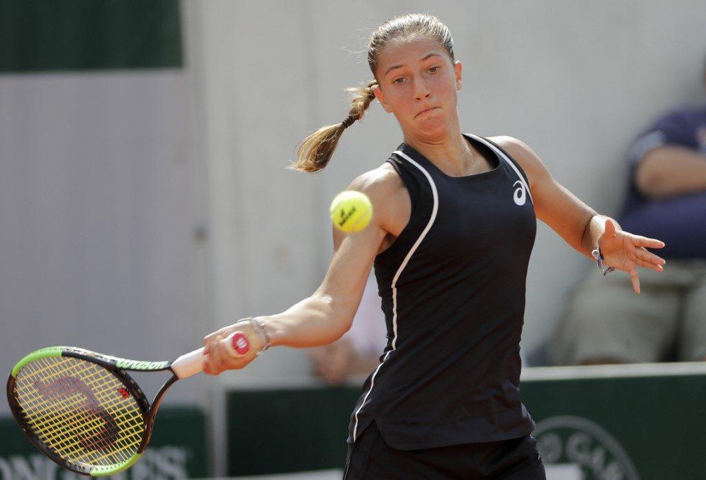 La Française Diane Parry, 16 ans, vient de s'offrir son premier succès en Grand Chelem à Roland-Garros