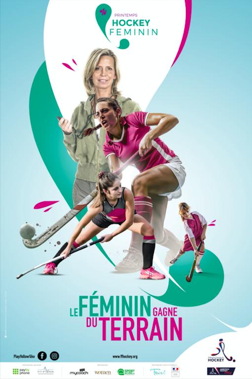 Printemps du hockey féminin : les filles sur le devant de la scène pendant 3 mois !
