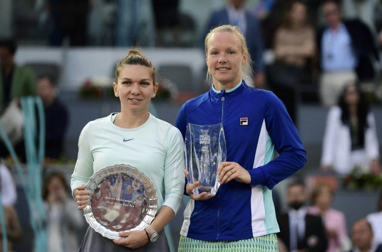 WTA Madrid : Kiki Bertens sacrée, Halep privée du trône