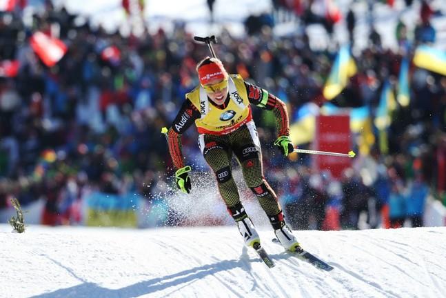 Biathlon : la reine Laura Dahlmeier raccroche les skis
