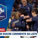 La sélectionneure des Bleues, Corinne Diacre, a commenté sa liste pour la Coupe du monde Féminine 2019 en France, ainsi que les objectifs qu'elle se fixe.