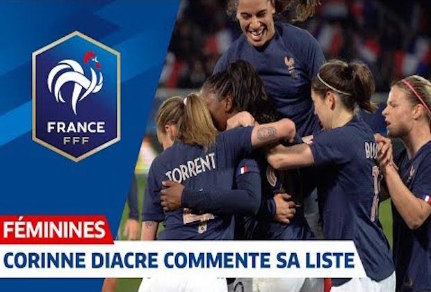 CDM France 2019 – Corinne Diacre : «le Président m'a donné l'objectif d'aller en finale »