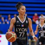 Les Lyonnaises ont remporté à domicile le premier match de la finale de la Ligue Féminine de Basketball (LFB) lundi, en s'imposant 71-60 contre Montpellier.
