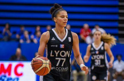 promo code 11ce0 d252f LFB   les Lyonnaises remportent le premier match de la finale