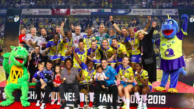 LFH [HANDBALL] : les Messines sacrées championnes de France