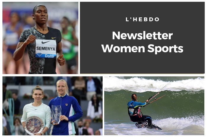 La newsletter WOMEN SPORTS du mardi 14 mai 2019