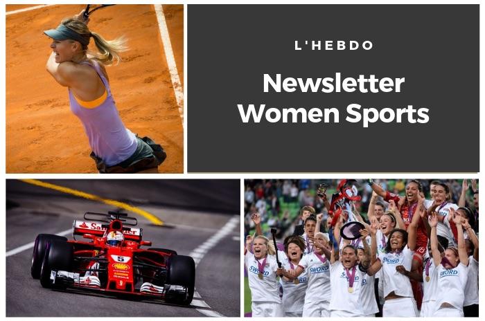 La newsletter WOMEN SPORTS du mardi 21 mai 2019