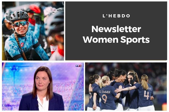 La newsletter WOMEN SPORTS du mardi 7 mai 2019