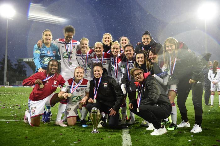 Coupe de France : les Lyonnaises s'offrent un nouveau titre