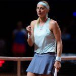 La Tchèque Petra Kvitova, N.2 mondiale et tenante du titre, a éliminé la Française Caroline Garcia en huitièmes de finale du tournoi WTA de Madrid mercredi.