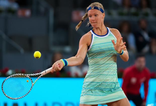 Roland-Garros : abandon de la N.4 mondiale Kiki Bertens