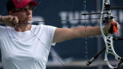 Jeux européens : la Française Sophie Dodemont médaillée de bronze en tir à l'arc