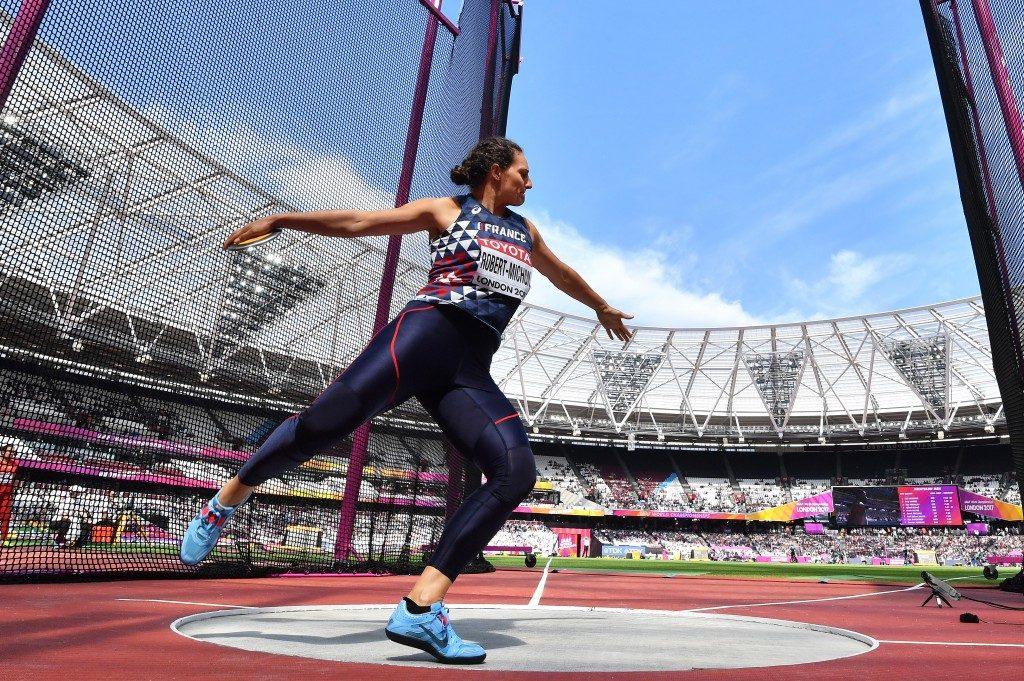 Athlétisme : déception pour Mélina Robert-Michon à Rabat