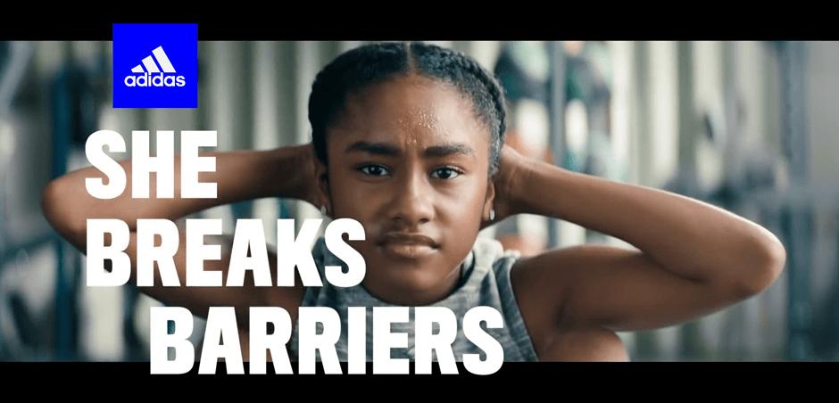 « She breaks barriers» : Adidas s'engage en faveur du développement du sport féminin