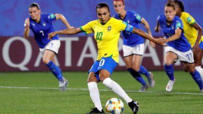 CDM France 2019 : le Brésil vient à bout de l'Italie