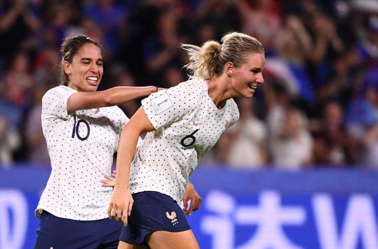 CDM France 2019 : les Bleues sortent le Brésil après prolongations