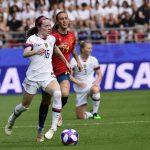 CDM France 2019 - Les États-Unis, champions du monde en titre, se sont qualifiés pour lesquarts-de-finalede la Coupe du monde féminine de football 2019.