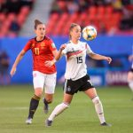 CDM France 2019 - Après sa courte victoire sur la Chine samedi (1-0), l'équipe d'Allemagne s'est imposée sur le même petit score face à l'Espagne mercredi.