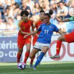 CDM France 2019 - L'Italie s'est qualifiée pour les quarts-de-finale de la Coupe du monde féminine de la FIFA 2019 après un succès 2-0 sur la Chine mardi.