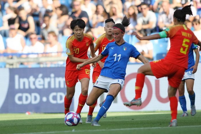 CDM France 2019 : l'Italie surprend la Chine et se qualifie en quarts