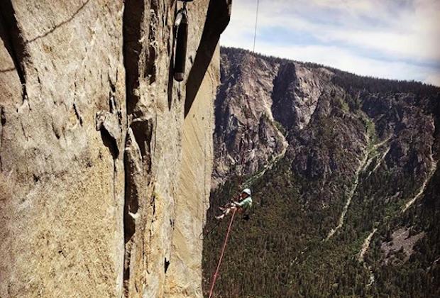 À 10 ans, elle gravit déjà l'une des plus hautes falaises du monde !