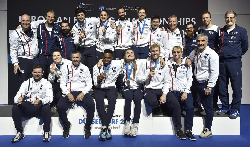 Euro Escrime 2019 : huit médailles françaises, dont six féminines
