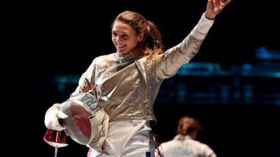 Manon Brunet sacrée vice-championne d'Europe au sabre