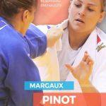 La Française Margaux Pinot a été sacrée championne d'Europe de judo (-70 kg) en battant en finale la Néerlandaise Sanne Van Dijke aux pénalités dimanche.