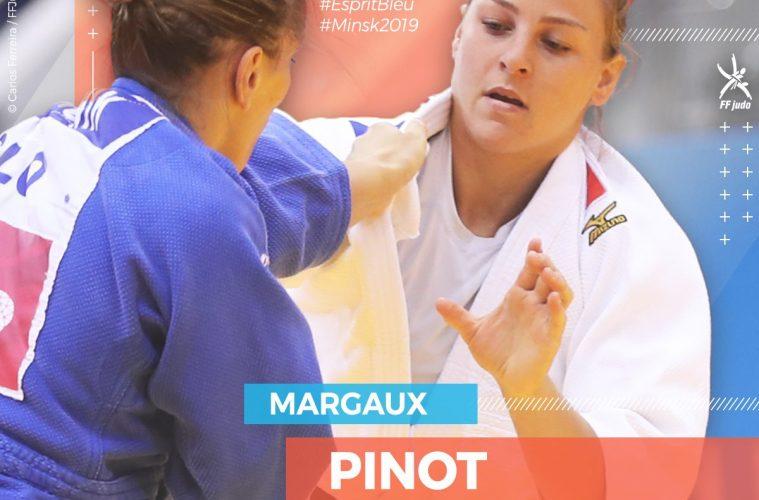 Euro Judo 2019 : Margaux Pinot sacrée