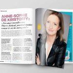 Idées reçues, vous allez être bousculées ! Anne-Sophie de Kristoffy, qui dirige le service des Sports de TF1 depuis plus de 10 ans, cultive sa singularité.